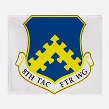 8th Tactical Fighter Wing.png Throw Blanket