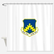 8th Tactical Fighter Wing.png Shower Curtain