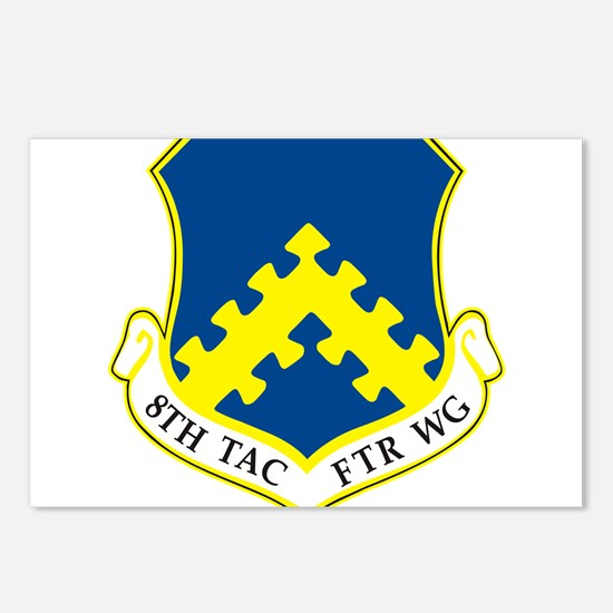 8th Tactical Fighter Wing Postcards (Package of 8)