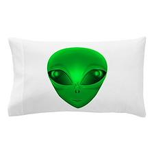 LITTLE GREEN MAN Pillow Case