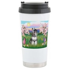 Cute Schnauzer Travel Mug