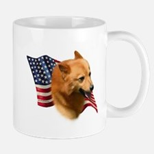 Finnish Spitz Flag Mug