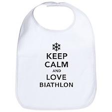 Keep calm and love Biathlon Bib