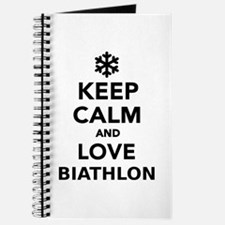 Keep calm and love Biathlon Journal