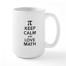 Keep calm and love Math Pi Mug