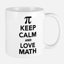 Keep calm and love Math Pi Mug