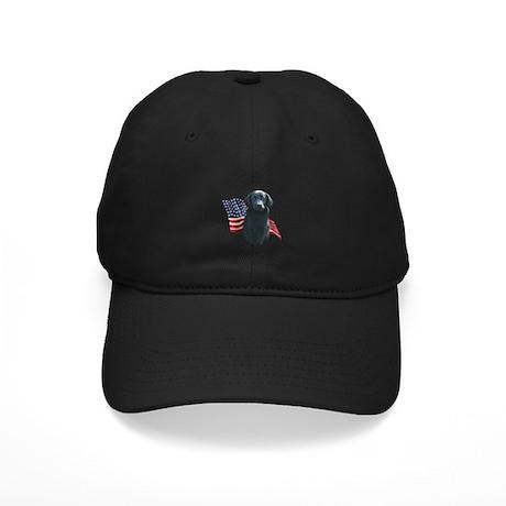 Flat-Coat Flag Black Cap