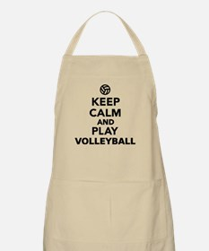 Keep calm and play Volleyball Apron