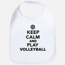 Keep calm and play Volleyball Bib