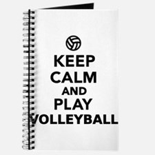 Keep calm and play Volleyball Journal