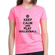Keep calm and play Volleyball Tee
