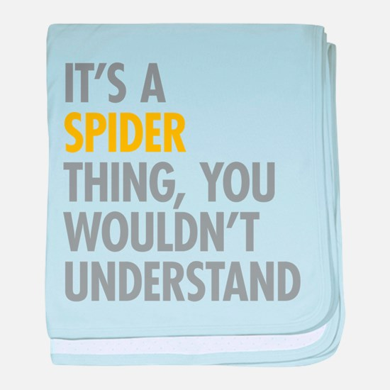 Its A Spider Thing baby blanket