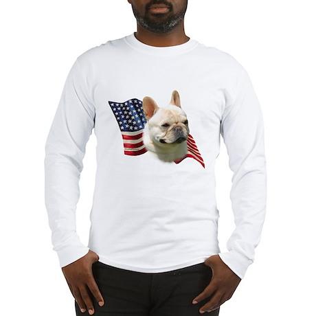 Frenchie Flag Long Sleeve T-Shirt