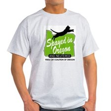 Fcco Spayed In Oregon In T-Shirt