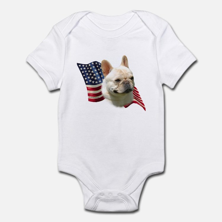 Patriotic French Bulldog Baby Clothes & Gifts