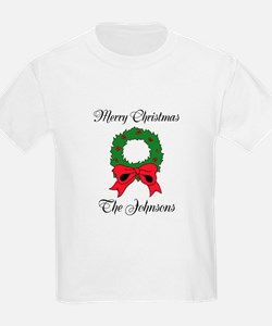 Personalized Christmas wishes T-Shirt