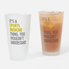 Sports Medicine Thing Drinking Glass