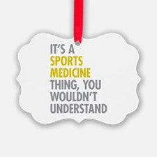 Sports Medicine Thing Ornament