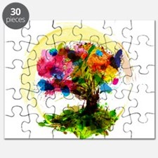 Watercolor Tree of Life Puzzle
