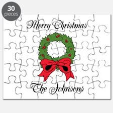 Personalized Christmas wishes Puzzle
