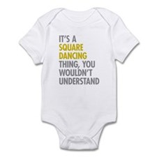 Square Dancing Thing Infant Bodysuit