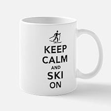 Keep calm and Ski on cross country Mug