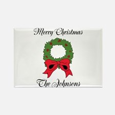 Personalized Christmas wishes Magnets