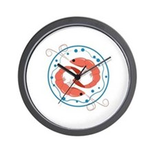 Two Shrimp Wall Clock