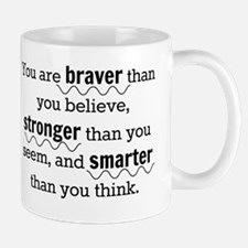 Braver than you believe Small Small Mug