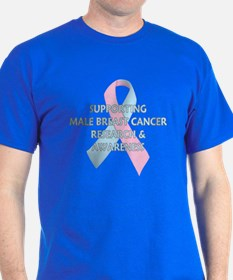 ...Male Breast Cancer... T-Shirt