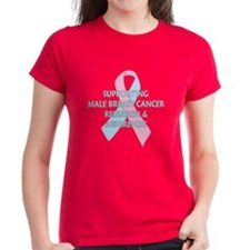 ...Male Breast Cancer... Tee