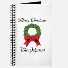 Personalized Christmas wishes Journal