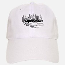 Gymnastics Word Cloud Baseball Baseball Baseball Cap