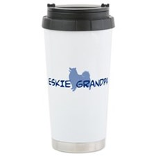 Funny Eskimo dog Travel Mug