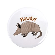 """Howdy 3.5"""" Button (100 pack)"""