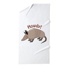 Howdy Beach Towel