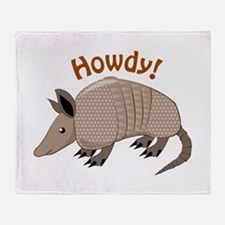 Howdy Throw Blanket