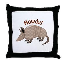 Howdy Throw Pillow