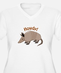 Howdy Plus Size T-Shirt