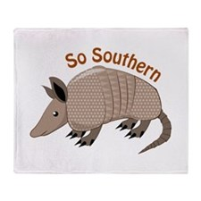 So Southern Throw Blanket