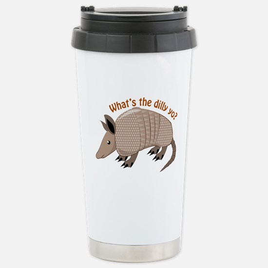 Whats The Dilly Travel Mug