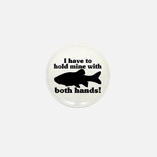 Hold My Fish With Both Hands Mini Button (10 pack)