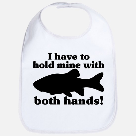 Hold My Fish With Both Hands Bib