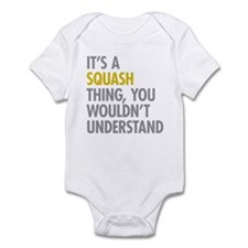 Its A Sqash Thing Onesie