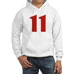Sexy 11 Hooded Sweatshirt