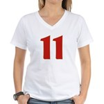 Sexy 11 Women's V-Neck T-Shirt