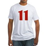 Sexy 11 Fitted T-Shirt