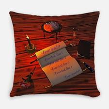 Personalizable handwritten letter Master Pillow