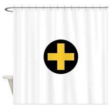 33rd Infantry Brigade Insignia.png Shower Curtain