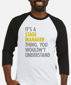 Stage Manager Thing Baseball Jersey